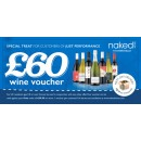 Free £60 voucher for Naked Wines