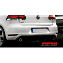 Piper Mk6 Golf GTI cat back & turbo back exhaust system