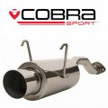HN13 Cobra Sport Honda Civic Type R (EP3) 2000-06 Rear Box with Round Tailpipe