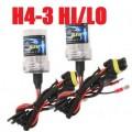 H4-3 Hi/lo Bi-Xenon replacement HID bulbs
