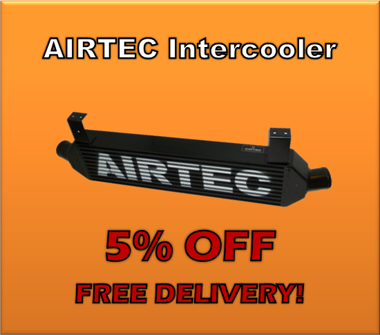 Airtec cooling solution intercooler 5% off